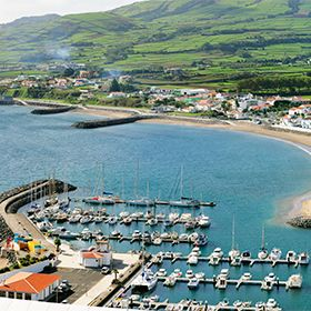 Marina da Praia da VitóriaФотография: Maurício de Abreu - Turismo dos Açores