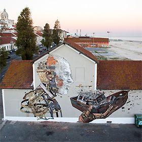 Vhils / Pixel PanchoPlace: Lisboa