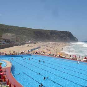 Praia Grande - SintraPlace: SintraPhoto: Associação Bandeira Azul da Europa