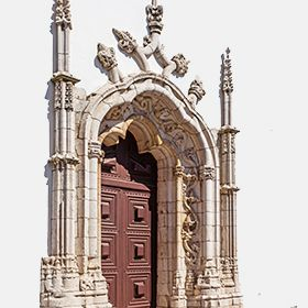 Igreja de Santa Maria de MarvilaLocal: SantarémFoto: Shutterstock_StockPhotosArt