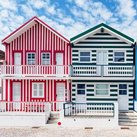Costa Nova Houses_Aveiro