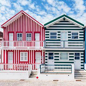 Costa Nova Houses_AveiroPlace: Nova Houses_AveiroPhoto: shutterstock_alexilena