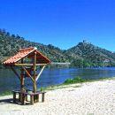 Praia fluvial da Quinta do Alamal Ort: Gavião Foto: Arquivo Turismo de Portugal