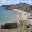 Praia do Burgau&#10Ort: Vila do Bispo&#10Foto: Teresa Cabaço