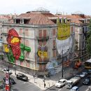 Os Gêmeos&#10場所: Lisboa&#10写真: Leonor Viegas 2010
