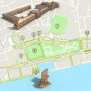 Mapa Lisboa - Belém - acessível