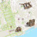 Mapa Lisboa - Rossio - acessível