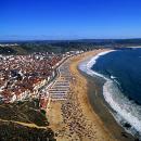 Praia Local: Nazaré Foto: Turismo de Lisboa