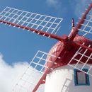 Moinho de vento Local: Ilha Graciosa nos Açores Foto: Turismo dos Açores