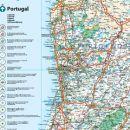 Mapa Turístico - Portugal
