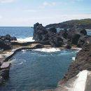 Zona Balnear do Varadouro&#10Place: Açores&#10Photo: Associação da Bandeira Azul Europa