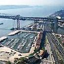 Doca de Santo Amaro - Porto de Lisboa