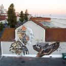 Vhils / Pixel Pancho&#10Local: Lisboa