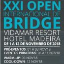 22º Open Internacional de Bridge da Madeira