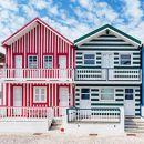 Costa Nova Houses_Aveiro Place: Nova Houses_Aveiro Photo: shutterstock_alexilena