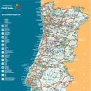 Landkarte Portugal