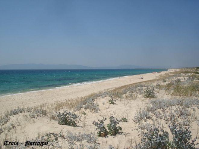 Praia de Sol Tróia