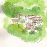 Urban Sketchers em Lisboa - José Louro - ArrábidaPlace: LisboaPhoto: José Louro