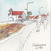 Urban Sketchers - Linda Toolsema - Zambujeira do MarPlace: Zambujeira do Mar / Rota VicentinaPhoto: Linda Toolsema