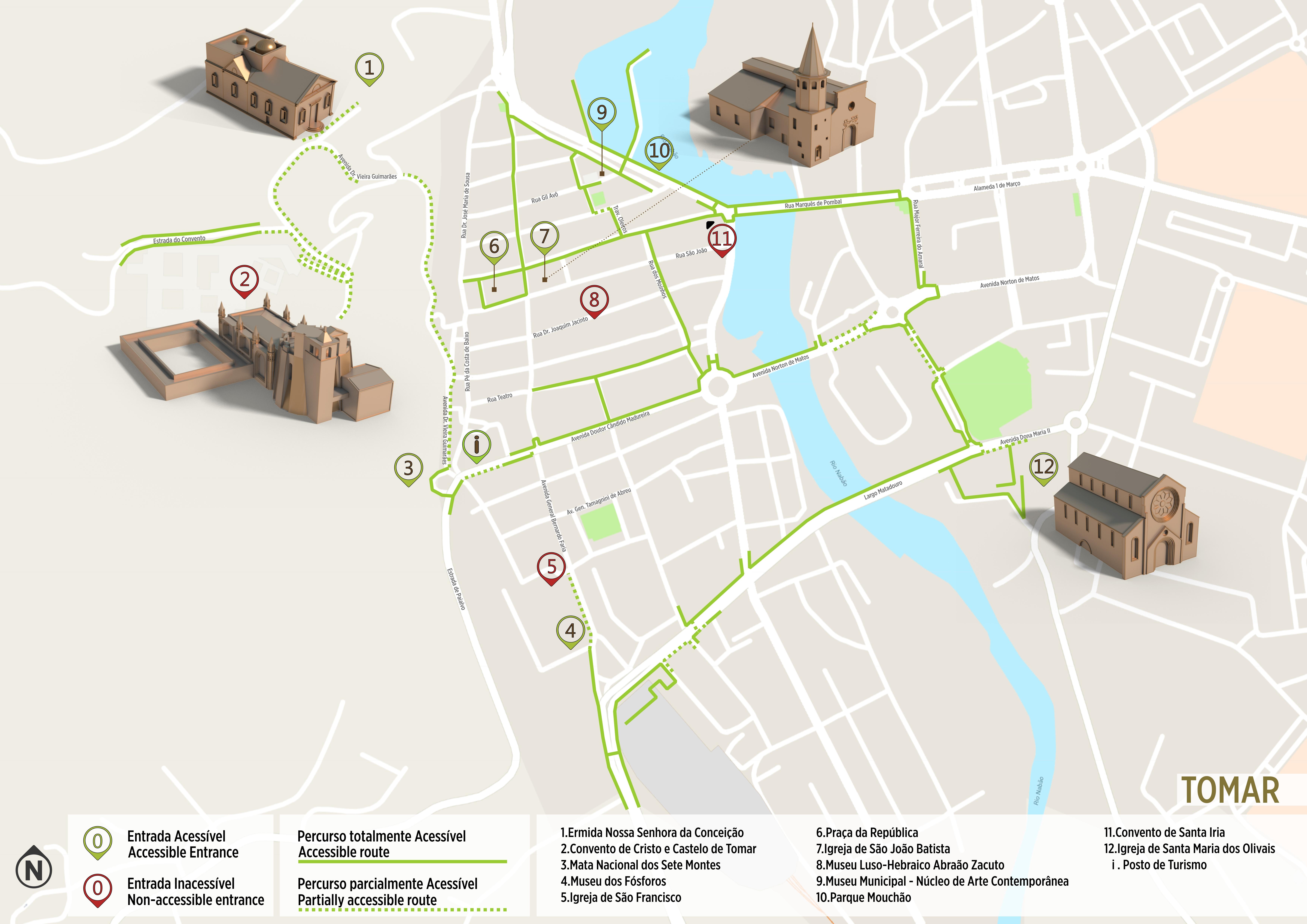 rua da conceição lisboa mapa Tomar   Accessible Tour | .visitportugal.com rua da conceição lisboa mapa