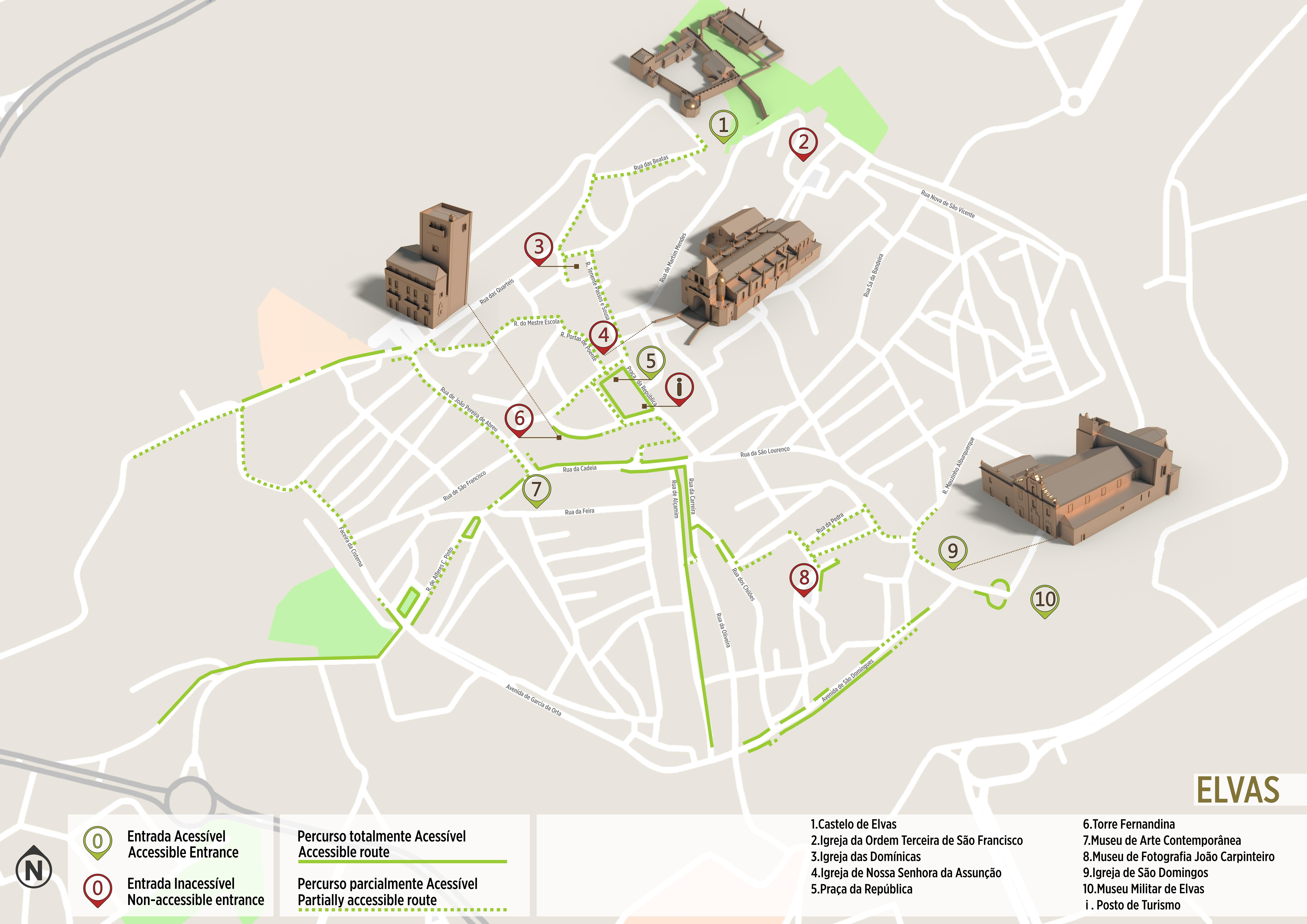 Elvas Accessible Itinerary Www Visitportugal Com
