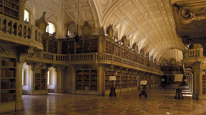 Biblioteca do Convento de Mafra