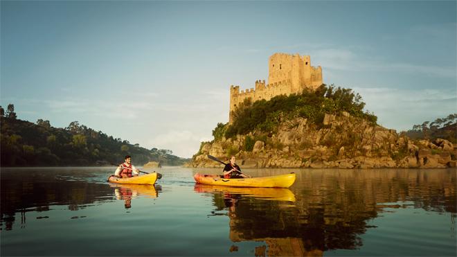 Castelo de Almourol by Yves Callewaert