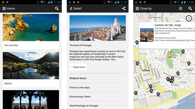App Visitportugal Travel Guide
