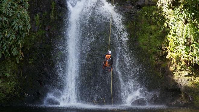 Canyoning in Azores Rui Vieira and Turismo dos Açores