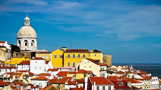 From Portas do Sol,Lisboa ©Turismo de Lisboa