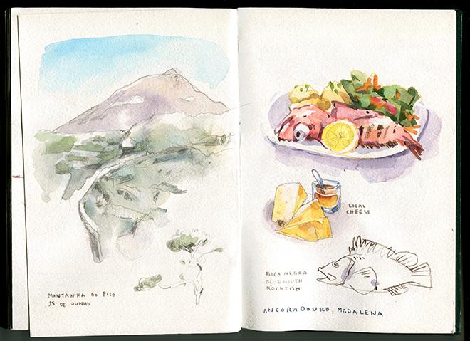 Ilha do Pico - Montanha e Ancoradouro