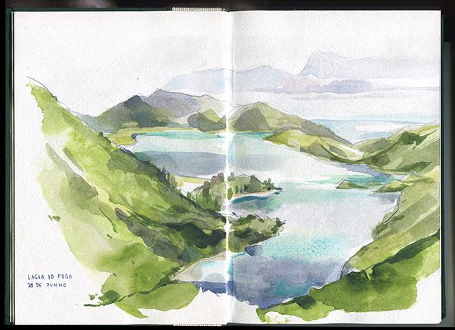 Lagoa do Fogo, Ilha de São Miguel