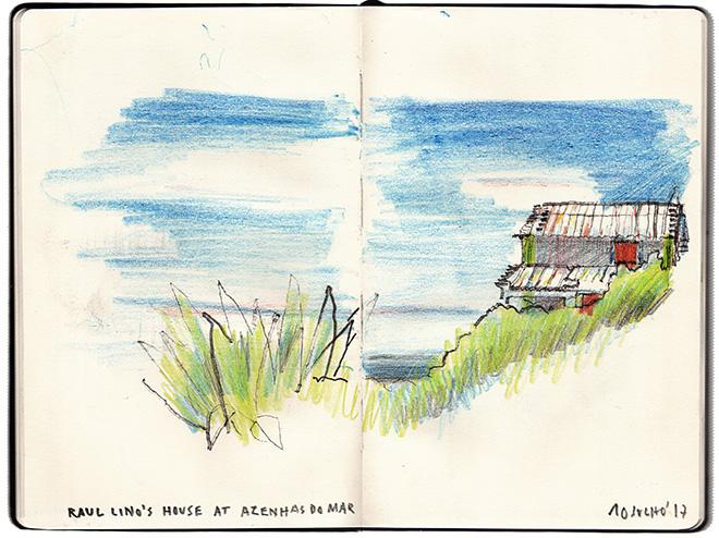 Casa Raúl Lino nas Azenhas do Mar