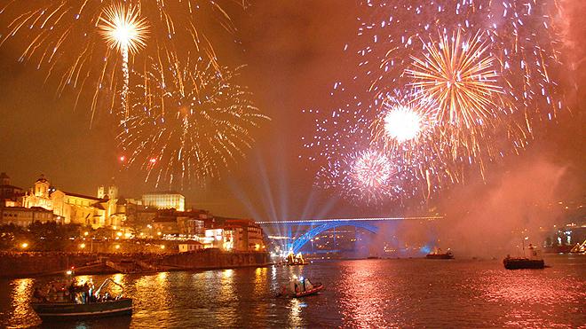 Porto - fireworks