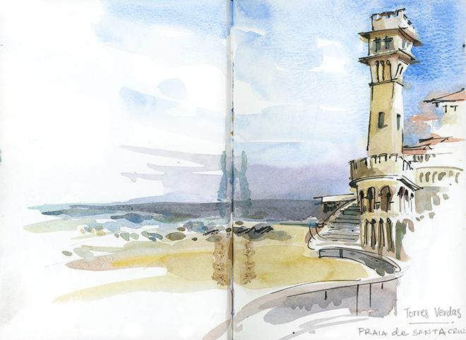 Suhita Shirodkar - Praia de Santa Cruz