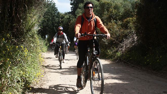 Abilio Bikes_Passeio Ecovia&#10Foto: Abilio Bikes