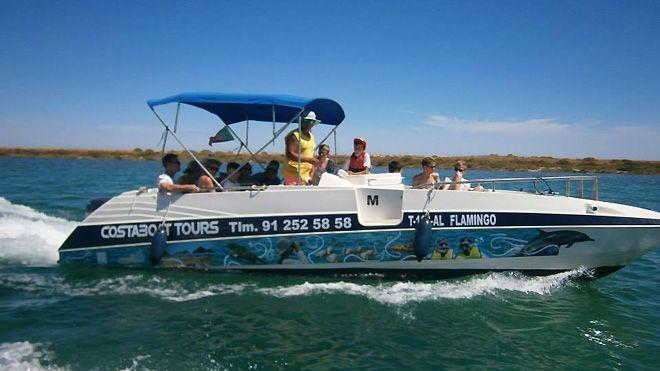 Coastaboat Tours / Coastbeach Tours&#10Local: Tavira&#10Foto: Coastaboat Tours / Coastbeach Tours