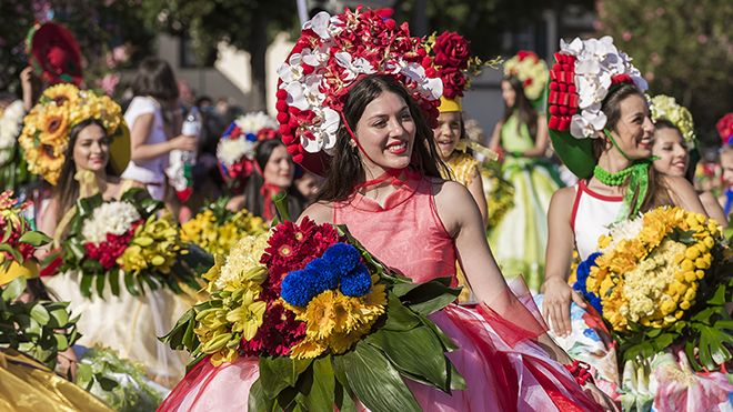 Festa da Flor&#10Place: Funchal&#10Photo: AP Madeira