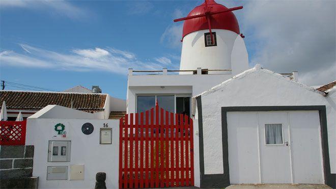 Moinho Mó da Praia&#10Local: ilha Graciosa&#10Foto: Moinho Mó da Praia