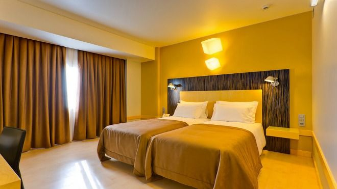 Hotel Alif Avenidas - Twin room