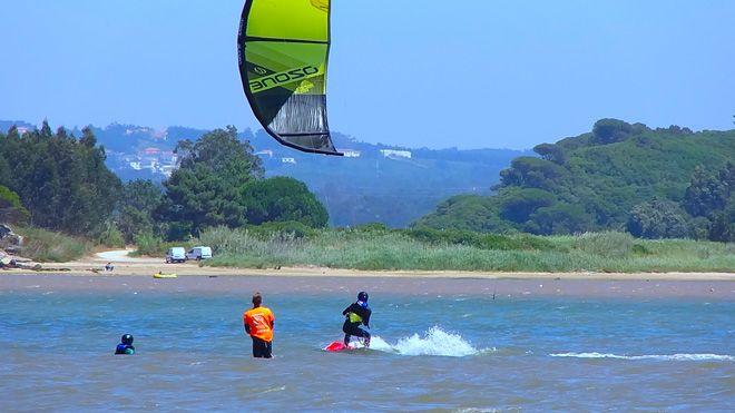 Kite Control&#10Local: Óbidos&#10Foto: Kite Control