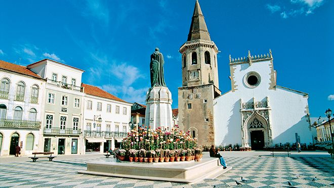 Igreja de São João Baptista, Tomar&#10Place: Tomar&#10Photo: John Copland