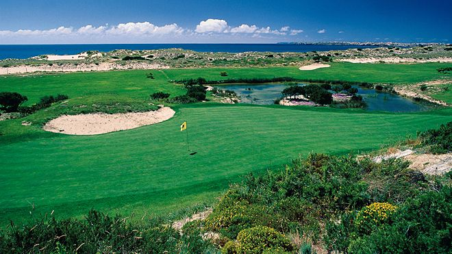 Campo de Golfe da Praia d'El Rey&#10Lugar: Óbidos&#10Foto: Turismo de Portugal