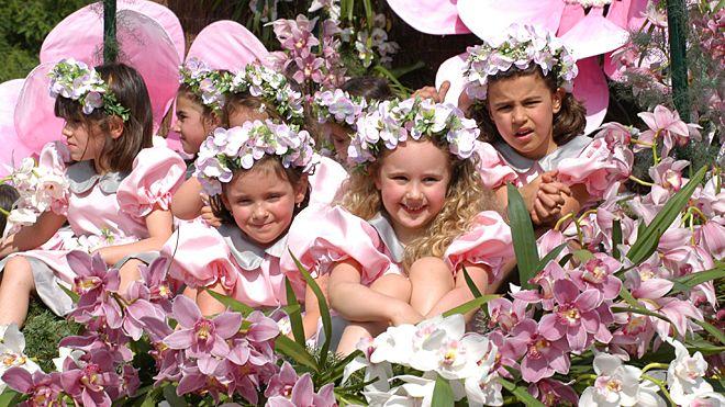 Festa da Flor&#10場所: Funchal&#10写真: Turismo da Madeira