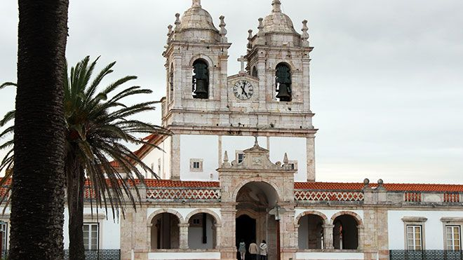 Igreja de Nossa Senhora da Nazaré&#10Ort: Nazaré&#10Foto: Nuno Félix Alves