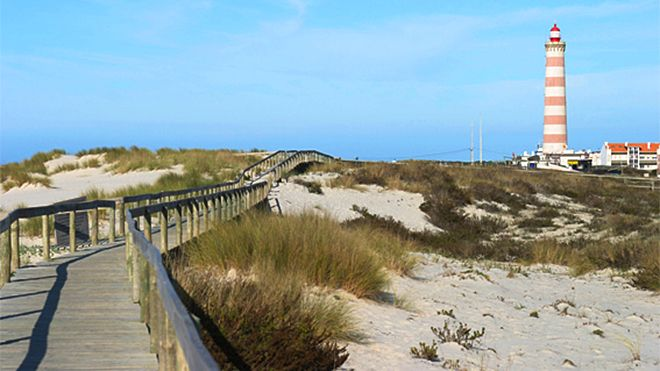 Praia da Barra&#10Ort: Gafanha da Nazaré - Ílhavo&#10Foto: Associação da Bandeira Azul Europa