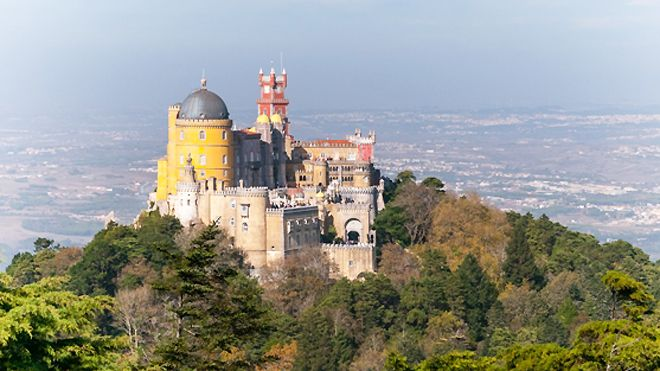 Palácio da Pena&#10Luogo: Sintra&#10Photo: Specialimo Travel Group