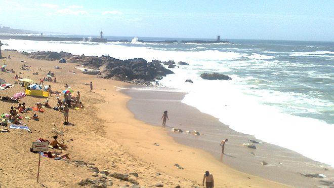 Praia da Foz_g1&#10Ort: Porto&#10Foto: ABAE