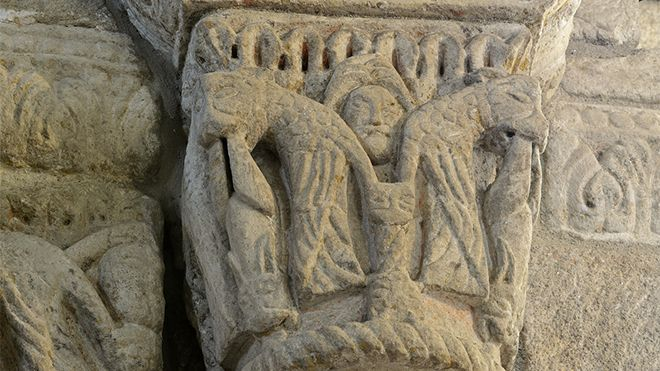 Rota do Românico - Igreja de São Martinho de Mouros&#10Local: Resende&#10Foto: Rota do Românico