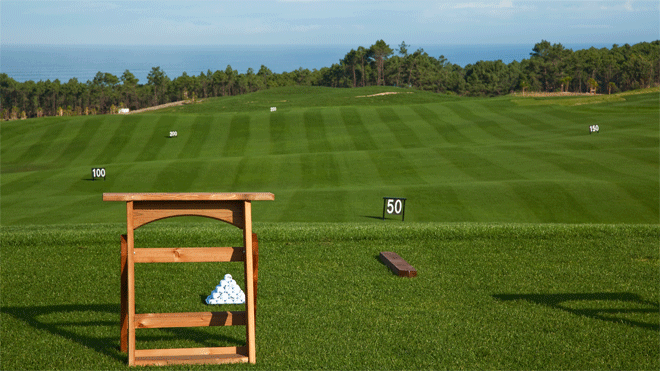 Royal Óbidos Spa & Golf Resort - Driving Range Setup&#10Место: Óbidos